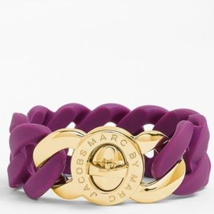 Marc by Marc Jacobs Katie Turnlock Bracelet - Plum